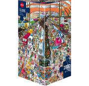 Heye Heye Train Station Puzzle 2000pcs