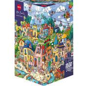 Heye Heye Happytown Puzzle 1500pcs