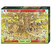 Heye Heye Funky Zoo: Monkey Habitat Puzzle 1000pcs