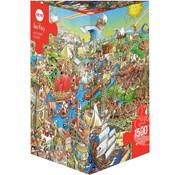 Heye Heye History River Puzzle 1500pcs