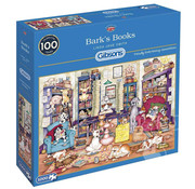 Gibsons Gibsons Bark's Books Puzzle 1000pcs