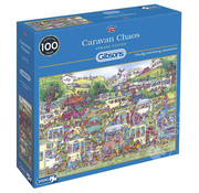 Gibsons Gibsons Caravan Chaos Puzzle 1000pcs