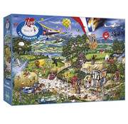 Gibsons Gibsons I Love the Country Puzzle 1000pcs