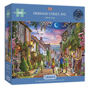 Gibsons Gibsons Mermaid Street, Rye Puzzle 1000pcs