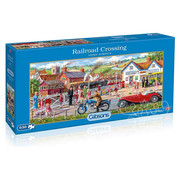 Gibsons Gibsons Railroad Crossing Puzzle 636pcs