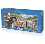 Gibsons Gibsons Seaside Train Puzzle 636pcs