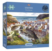 Gibsons Gibsons Staithes Puzzle 1000pcs