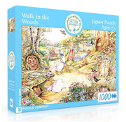 New York Puzzle Company New York Puzzle Co. Peter Rabbit: Walk in the Woods Puzzle 1000pcs