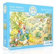 New York Puzzle Company New York Puzzle Co. Peter Rabbit: Peter Rabbit's Garden Snack Puzzle 500pcs