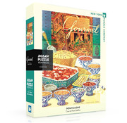 New York Puzzle Company New York Puzzle Co. Gourmet: Indian Cuisine Puzzle 1000pcs