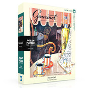 New York Puzzle Company New York Puzzle Co. Gourmet: Italian Café Puzzle 500pcs