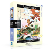 New York Puzzle Company New York Puzzle Co. House & Garden: Swan Cottage Puzzle 1000pcs