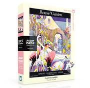 New York Puzzle Company New York Puzzle Co. House & Garden: Flamingo Garden Puzzle 1000pcs