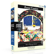 New York Puzzle Company New York Puzzle Co. House & Garden: Quilted Comfort Puzzle 500pcs