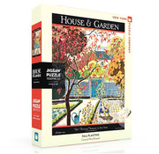 New York Puzzle Company New York Puzzle Co. House & Garden: Fall Planting Puzzle 1000pcs