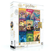 New York Puzzle Company New York Puzzle Co. Harry Potter: The Book Covers Collage Puzzle 500pcs