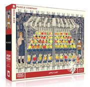 New York Puzzle Company New York Puzzle Co. Apple Cart Puzzle 500pcs