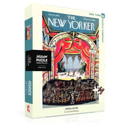 New York Puzzle Company New York Puzzle Co. The New Yorker: Opera House Puzzle 1000pcs