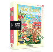 New York Puzzle Company New York Puzzle Co. The New Yorker: Tropical Holiday Puzzle 500pcs