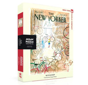 New York Puzzle Company New York Puzzle Co. The New Yorker: Bicycle Shop Puzzle 1000pcs