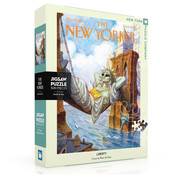New York Puzzle Company New York Puzzle Co. The New Yorker: Liberty Puzzle 500pcs
