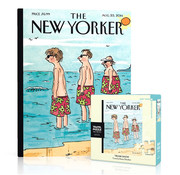 New York Puzzle Company New York Puzzle Co. The New Yorker: Trunk Show Mini Puzzle 100pcs