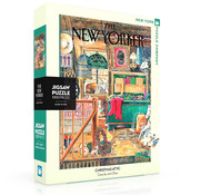 New York Puzzle Company New York Puzzle Co. The New Yorker: Christmas Attic Puzzle 1000pcs