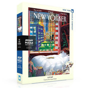 New York Puzzle Company New York Puzzle Co. The New Yorker: Cat Nap Puzzle 1000pcs