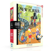 New York Puzzle Company New York Puzzle Co. The New Yorker: Off the Leash Puzzle 1000pcs