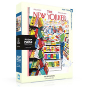 New York Puzzle Company New York Puzzle Co. The New Yorker: The Bookstore Puzzle 1000pcs