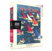 New York Puzzle Company New York Puzzle Co. The New Yorker: Tactless Tacking Puzzle 500pcs