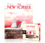 New York Puzzle Company New York Puzzle Co. The New Yorker: Love Kittens Mini Puzzle 100pcs