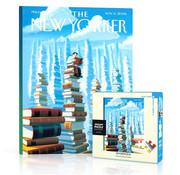 New York Puzzle Company New York Puzzle Co. The New Yorker: Bookopolis Mini Puzzle 100pcs