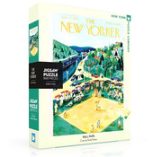 New York Puzzle Company New York Puzzle Co. The New Yorker: Ballpark Puzzle 500pcs