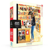 New York Puzzle Company New York Puzzle Co. The New Yorker: At the Strand Puzzle 1000pcs