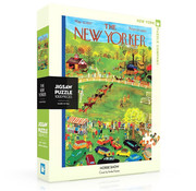 New York Puzzle Company New York Puzzle Co. The New Yorker: Horse Show Puzzle 1000pcs