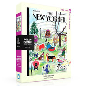 New York Puzzle Company New York Puzzle Co. The New Yorker: Canine Couture Puzzle 1000pcs