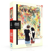 New York Puzzle Company New York Puzzle Co. The New Yorker: Paint by Pixels Puzzle 1000pcs