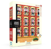 New York Puzzle Company New York Puzzle Co. The New Yorker: Hot Dogs Puzzle 1000pcs