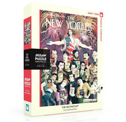 New York Puzzle Company New York Puzzle Co. The New Yorker: The Melting Plot Puzzle 1000pcs