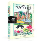 New York Puzzle Company New York Puzzle Co. The New Yorker: Cat on the Prowl Puzzle 1000pcs