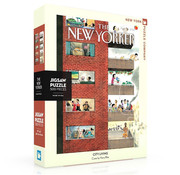 New York Puzzle Company New York Puzzle Co. The New Yorker: City Living Puzzle 500pcs