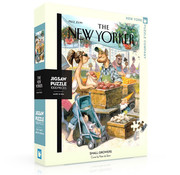 New York Puzzle Company New York Puzzle Co. The New Yorker: Small Growers Puzzle 1000pcs