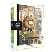 New York Puzzle Company New York Puzzle Co. The New Yorker: A New Leaf Puzzle 500pcs