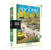 New York Puzzle Company New York Puzzle Co. The New Yorker: Garden Center Puzzle 500pcs