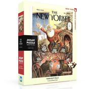 New York Puzzle Company New York Puzzle Co. The New Yorker: When Duty Palls Puzzle 1000pcs