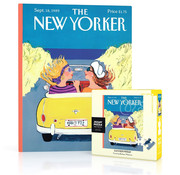 New York Puzzle Company New York Puzzle Co. The New Yorker: Summer Friday Mini Puzzle 100pcs
