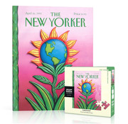 New York Puzzle Company New York Puzzle Co. The New Yorker: Earth Day Mini Puzzle 100pcs
