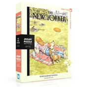 New York Puzzle Company New York Puzzle Co. The New Yorker: To Fetch or Not To Fetch Puzzle 500pcs