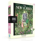 New York Puzzle Company New York Puzzle Co. The New Yorker: Winter Garden Puzzle 500pcs